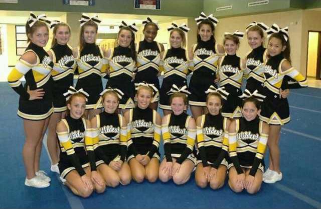 sports wildcat cheerleaders
