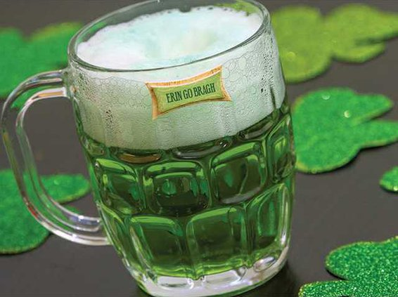 st patrick green beer