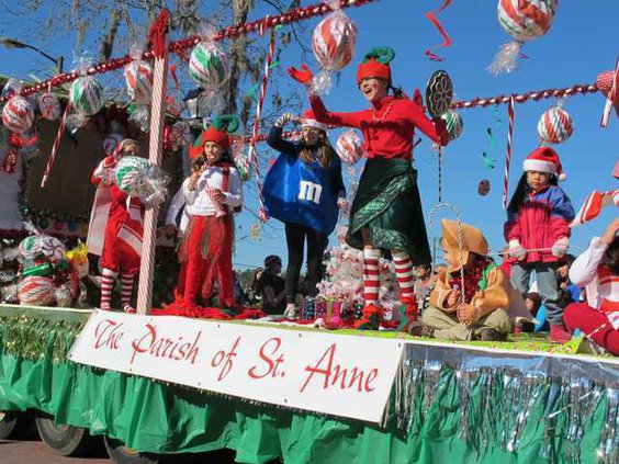 Christmas parade file pic