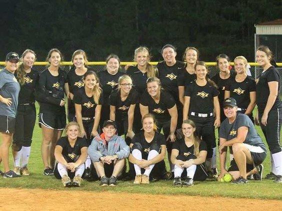 RHHS Softball Team photo provided