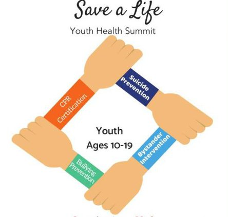 Save a Life Youth Health Summit logo