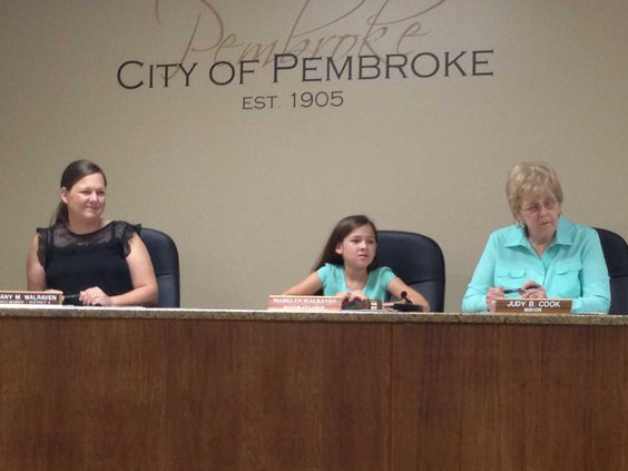 Daughter serves as mayor