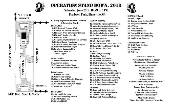 Operation Stand Down 2018