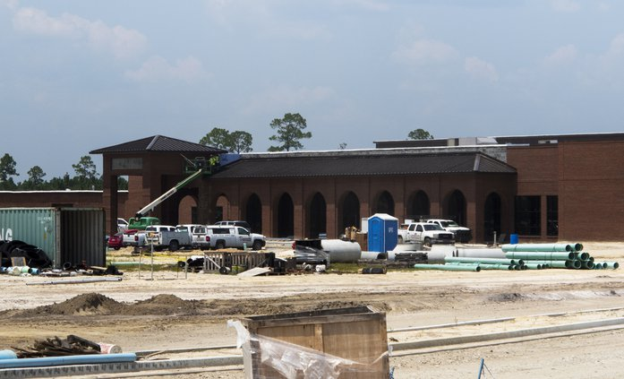 new long county school construction