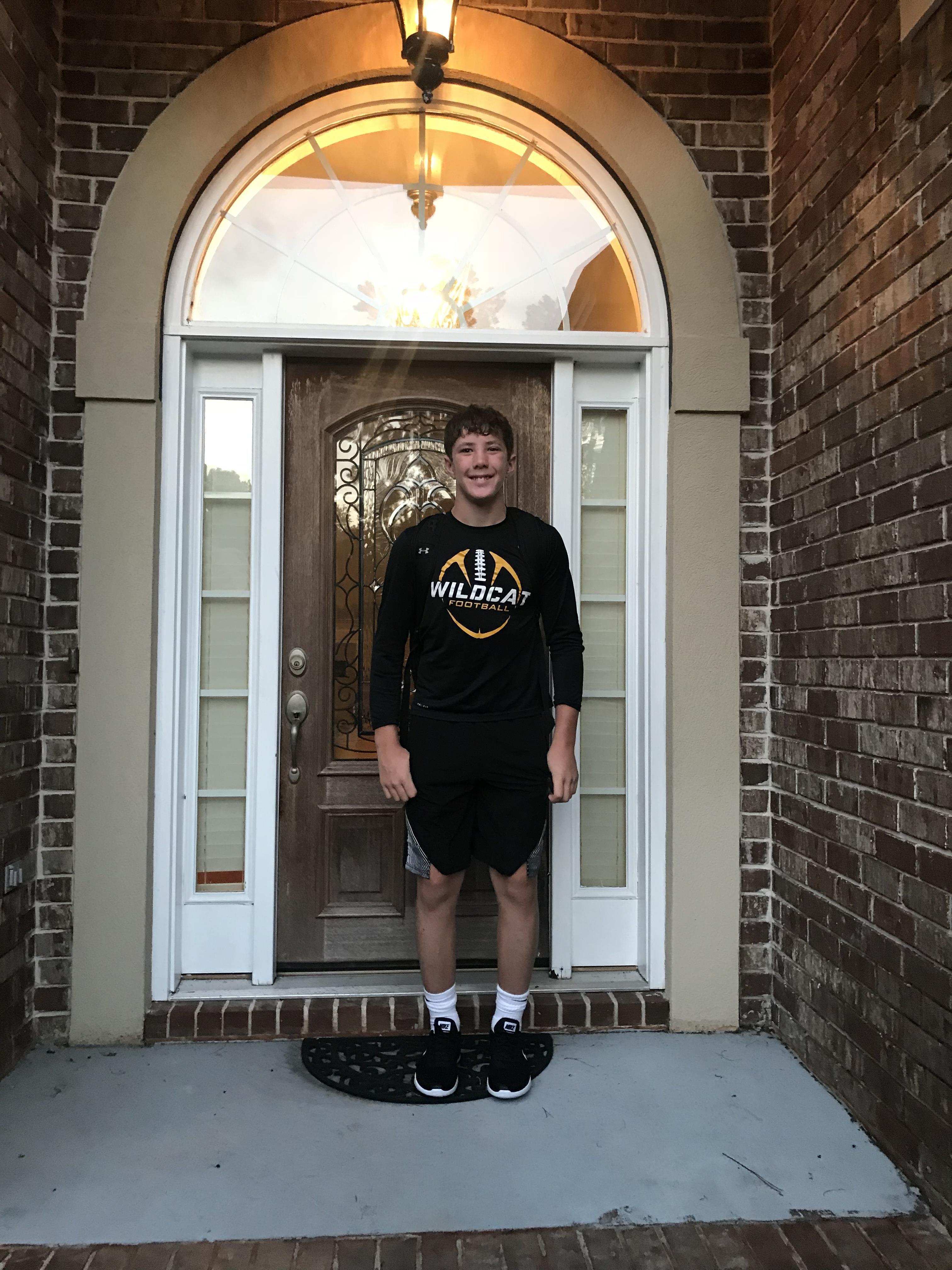 Bradley Hill, 9th grade, RHHS.