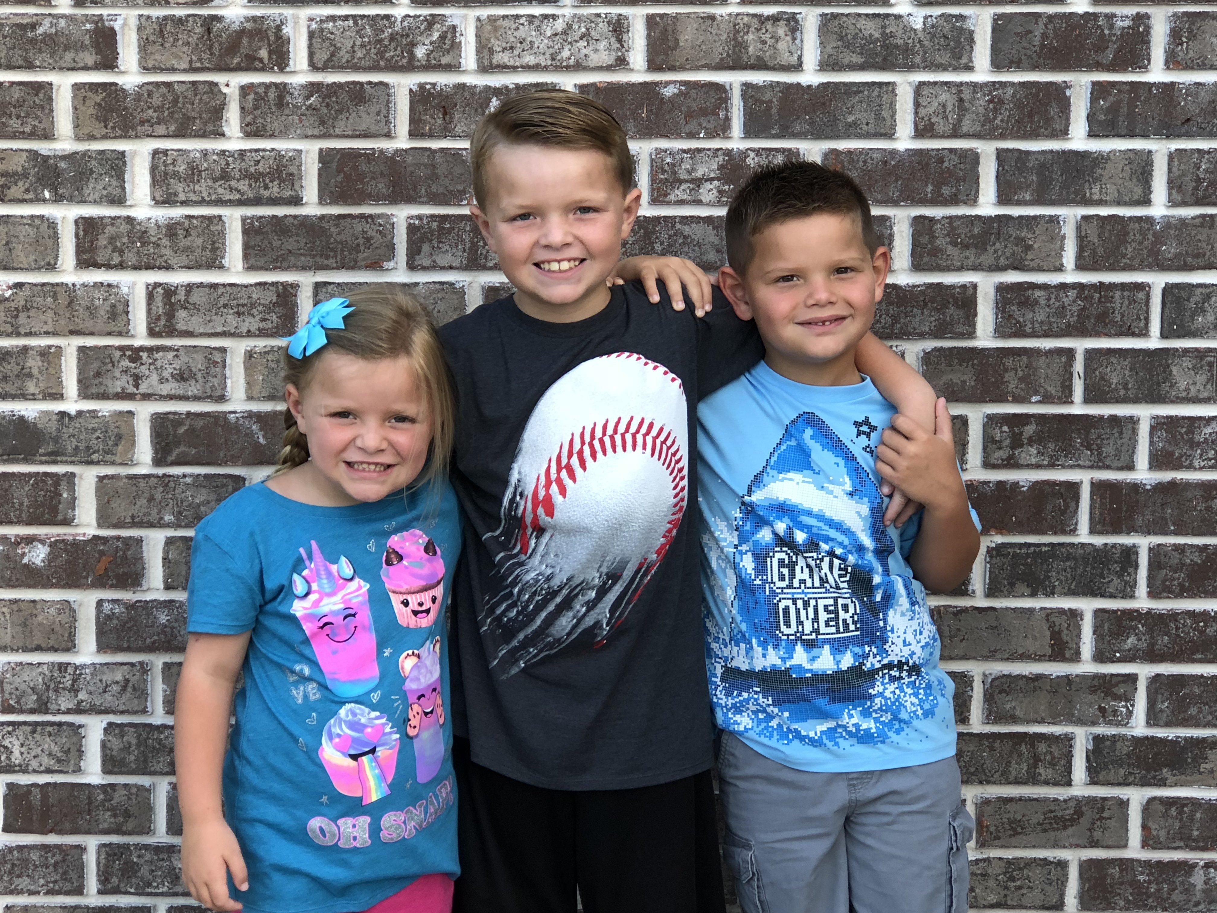 Briley, Brady and Dawson Greene