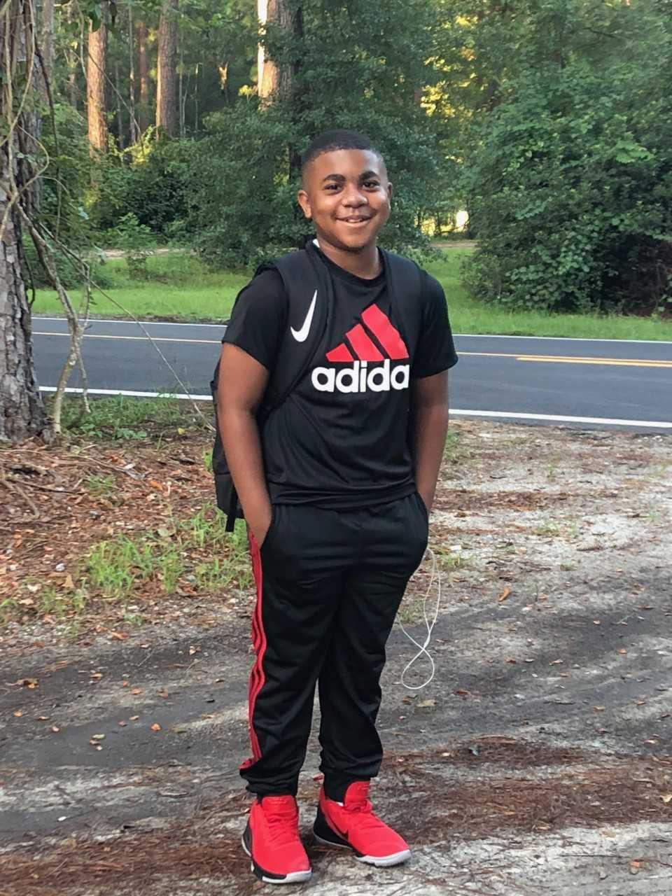 Bryce Thomas, 6th grade, BCMS.