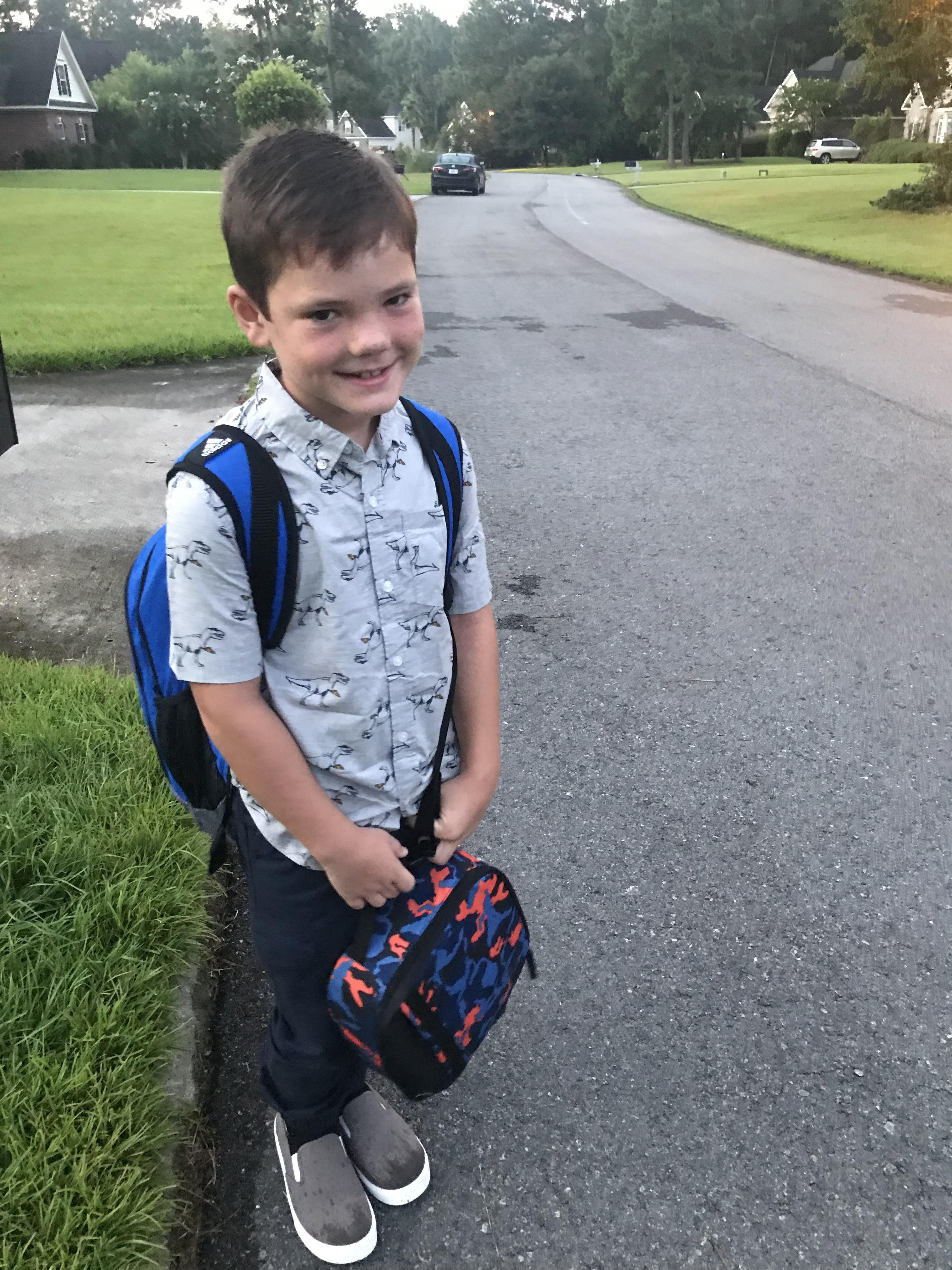 Connor Hill, 3rd grade McAllister