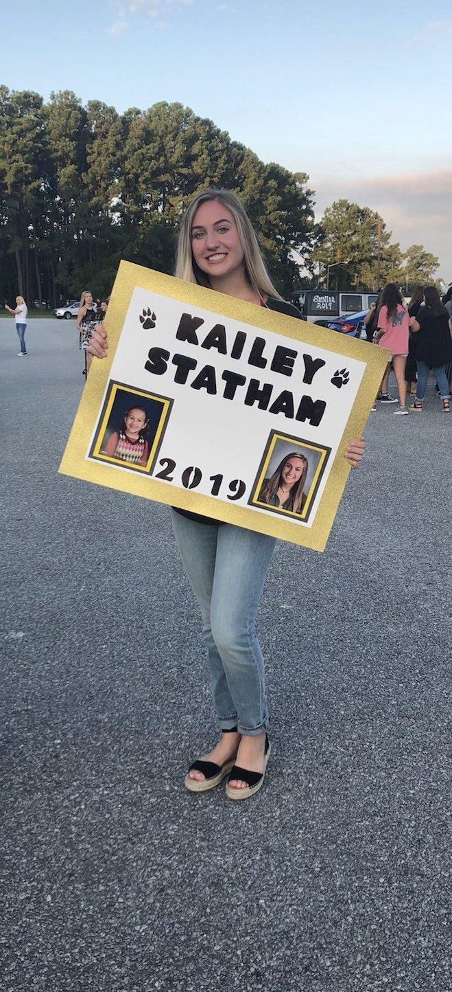 Kailey Statham senior RHHS.