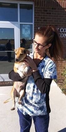 3 -- Gail Deason with dog.jpg