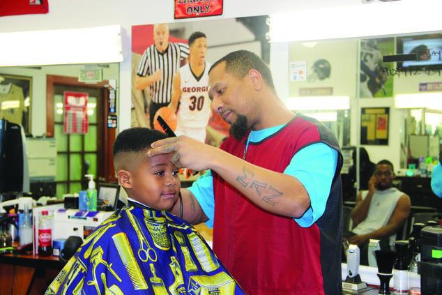 Jazzy barbershop