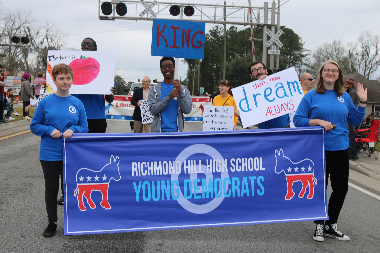 RH MLK Parade. Photo by Yvette Crowe