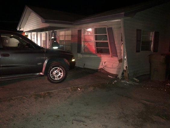 brake fail damage house
