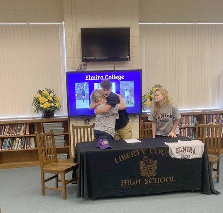 LCHS soccer signing