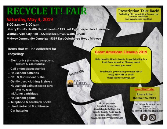 Recycle It Fair flyer