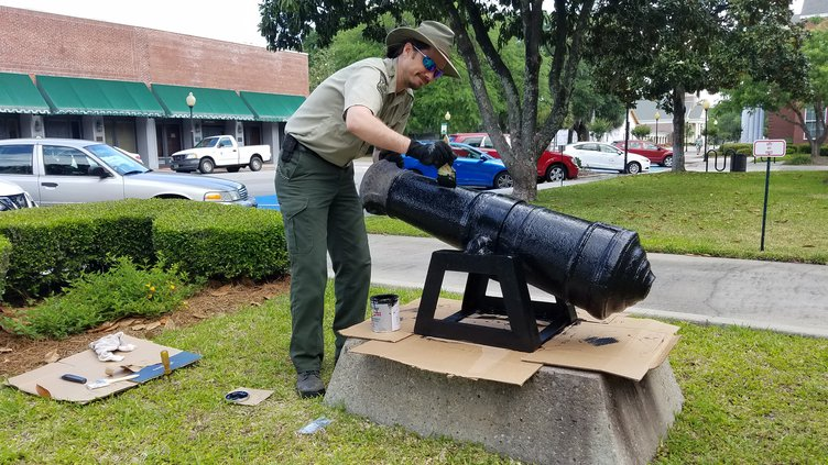 Fort Morris cannon