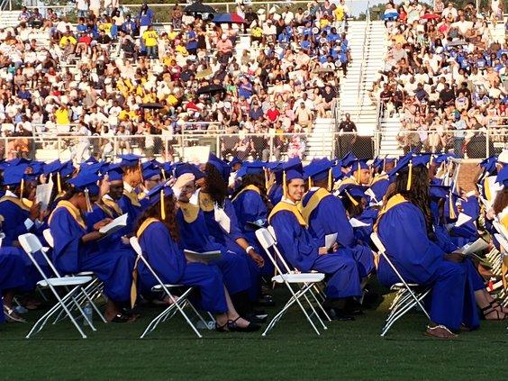 BI grads seated