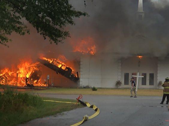 church fire 5