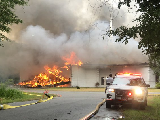church fire 6