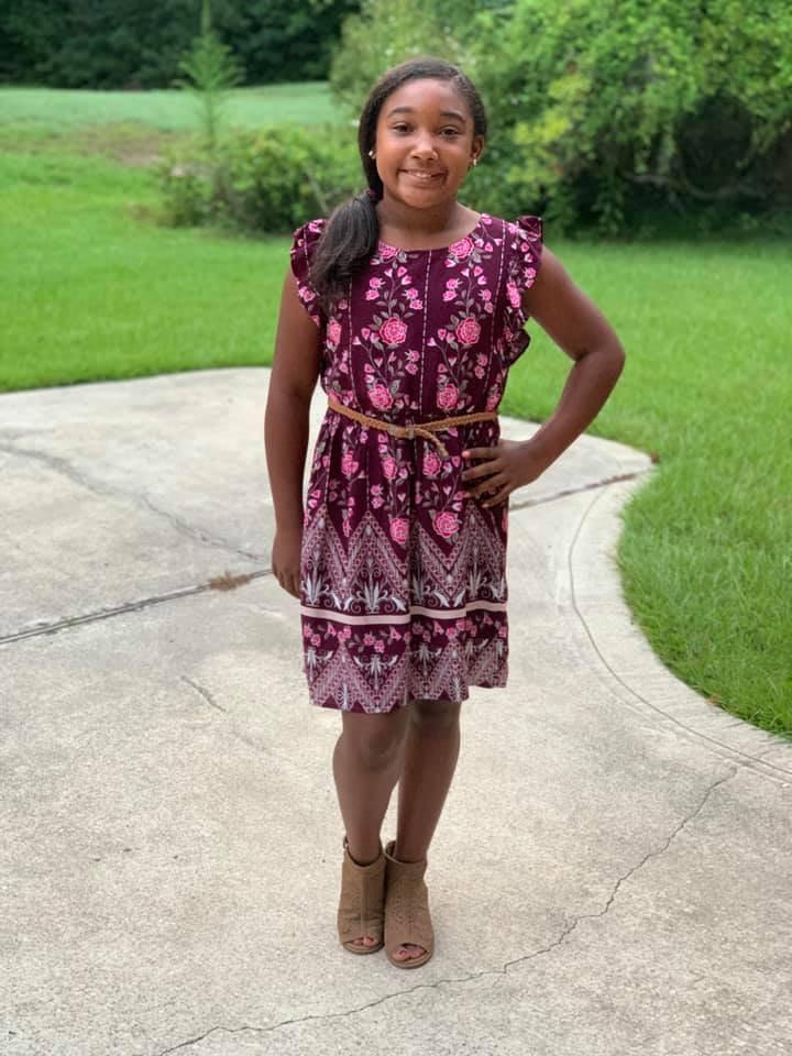 Brianna Sewell, 6th grade, RHMS