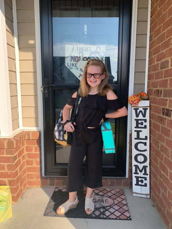 Emily Gibson, 4th grade, GWCES