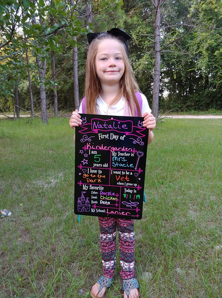 Natalie Sikes, kindergarten, LPS