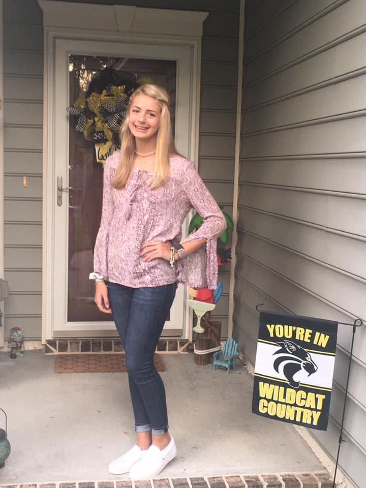 Nia Woodworth, 8th grade, RHMS