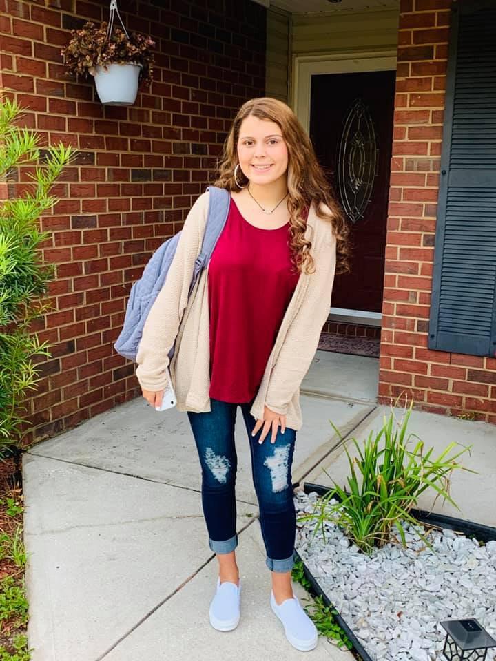 Rayanna West, 9th grade, BCHS