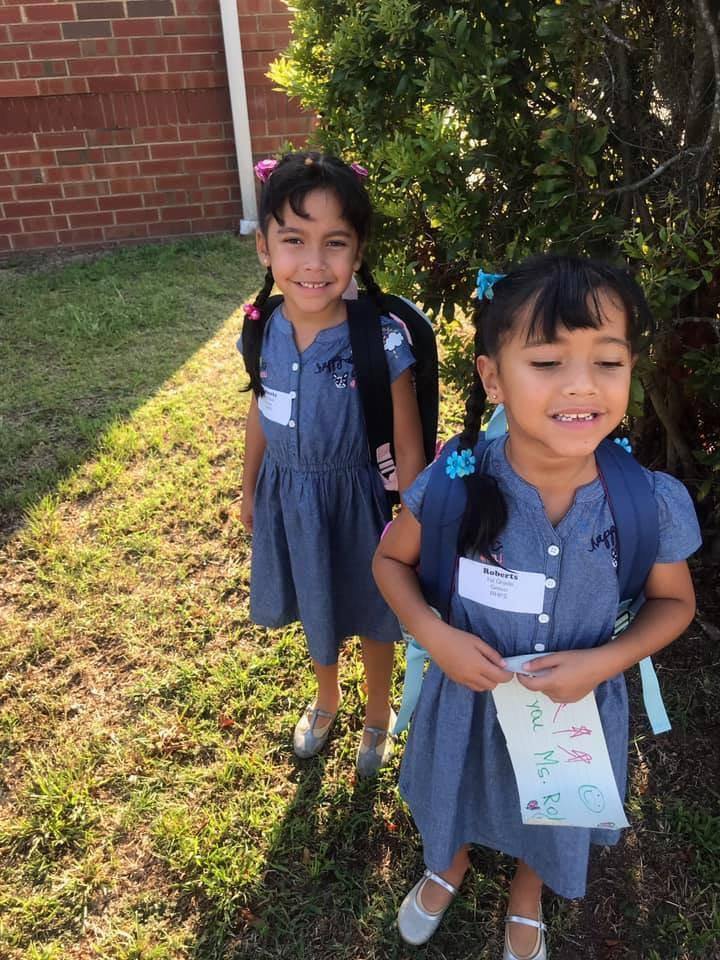 Samantha & Sophia Rubio, 1st grade, RHPS