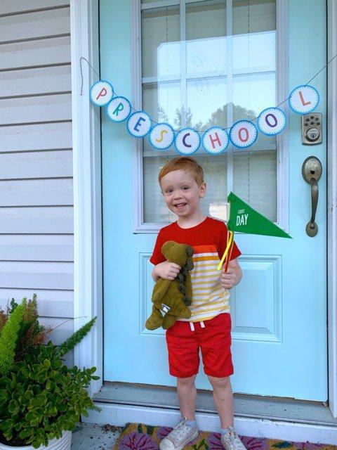 Sawyer Denney McClure, preschool, Ford Academy