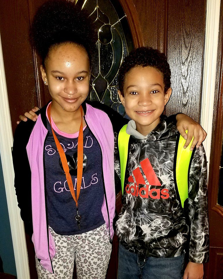 Sean and Chante Myrick , 5th and 7th grade, GWCES and RHMS