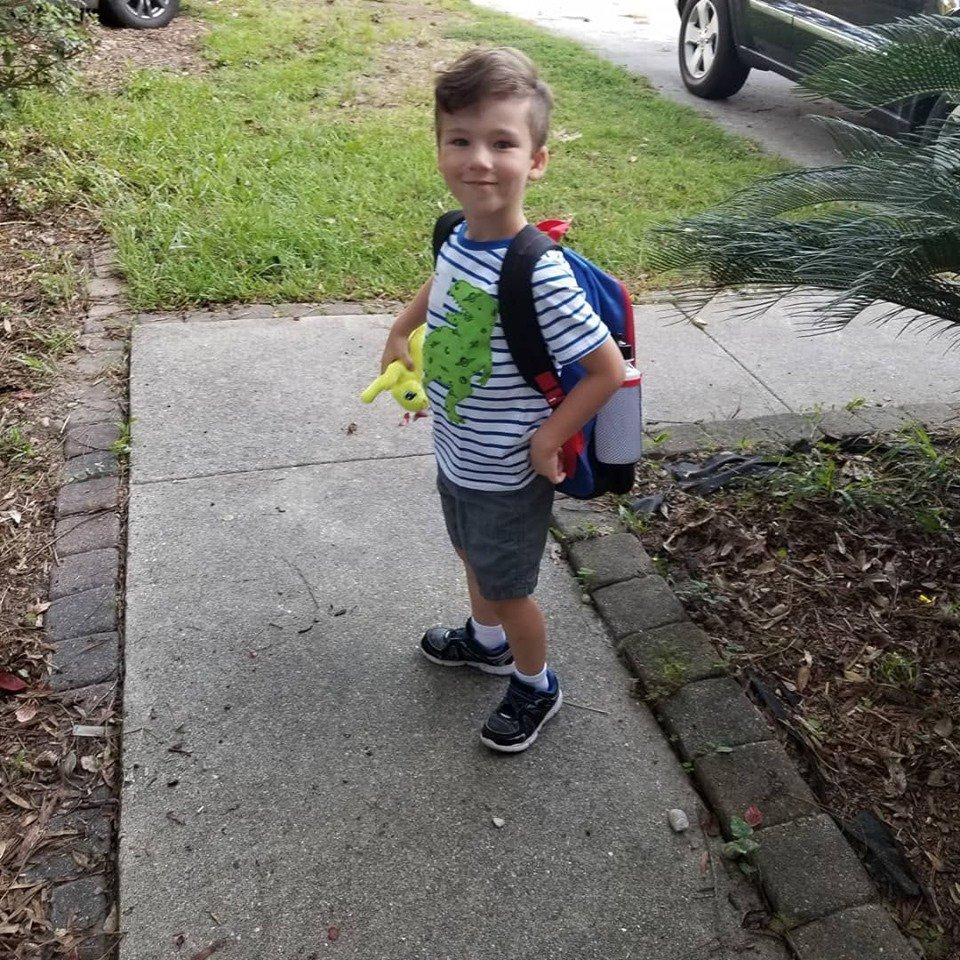 Thomas Groom, kindergarten, RHPS