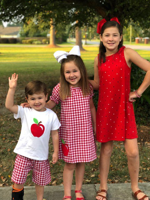 Jeremiah Walraven, Pre-K, LPS, Lily Walraven, 2nd, LPS, Madelyn Walraven, 6th, BCMS