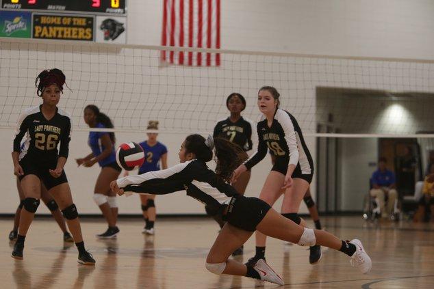 BI vs Liberty volleyball