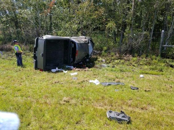 I-95 car wreck