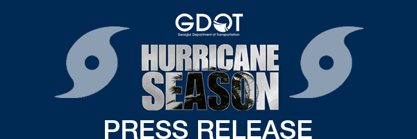 GDOT hurricane graphic