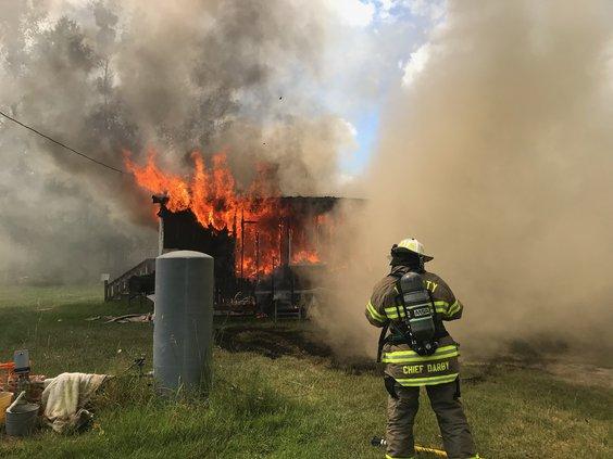 Claudia Lane fire