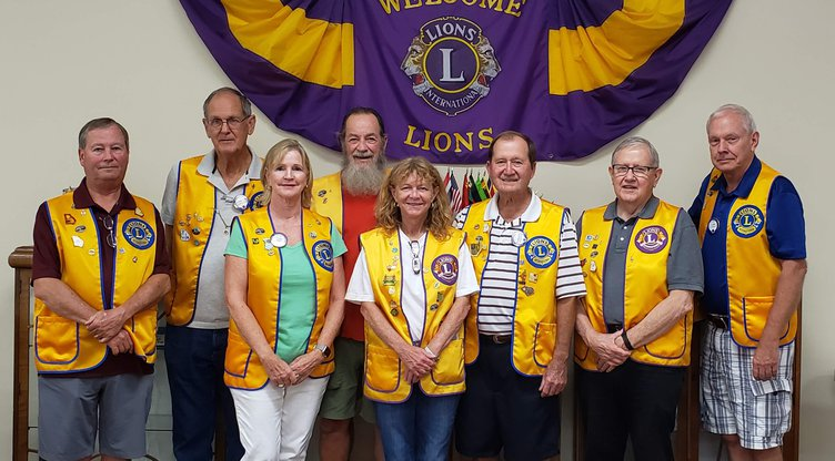 Lion's club officers