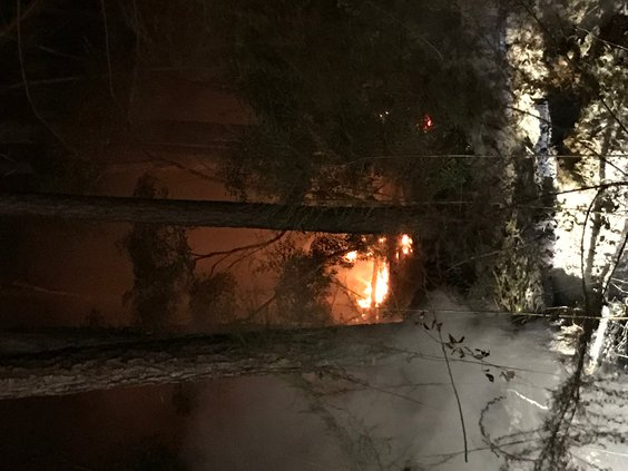 long brush fires continue