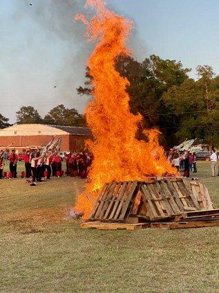 BCHS bonfire 1