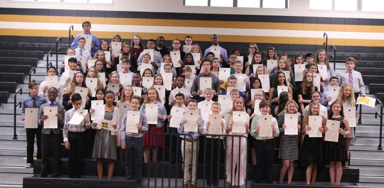 RMS beta club inductees