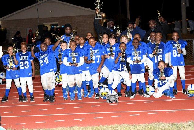 LCRD 8U all star football 2109