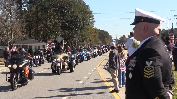 Funeral procession Cameron Walters 1