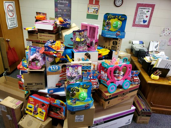 Angel Tree Donations gifts