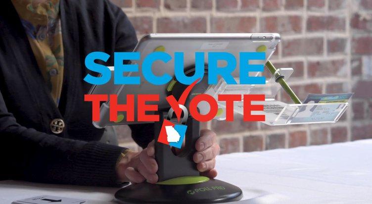Secure vote trailer