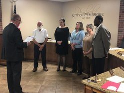 Pembroke council 2020 sworn in