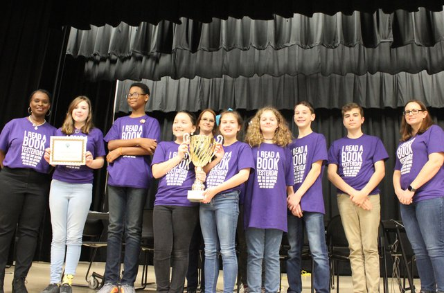 Midway Middle Helen Ruffin Reading Bowl