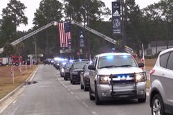 Long Co. Deputy Whiteman funeral service