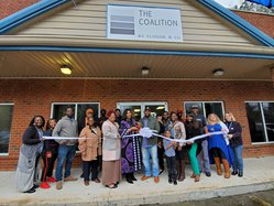 Coalition ribbon cutting