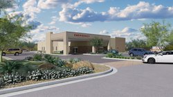 New emergency room rendering